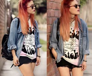 hair, outfit, and cool image