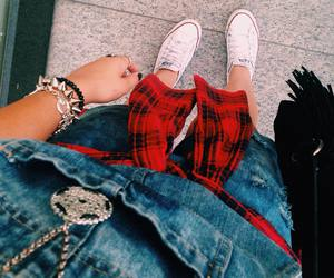 converse, shoes, and tumblr girl image