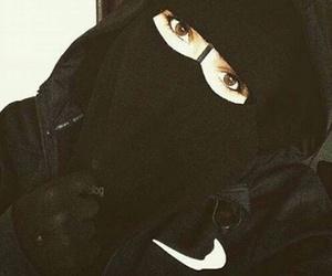 beautiful, islam, and niqab image