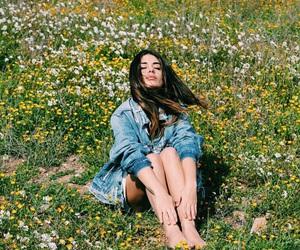 flowers, girl, and dulceida image