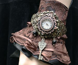 key, steampunk, and watch image