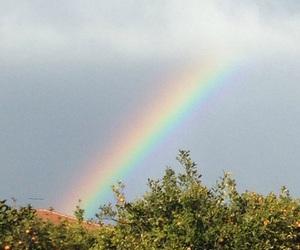 arcobaleno, cielo, and sud image