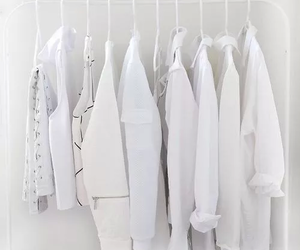 white, clothes, and fashion image
