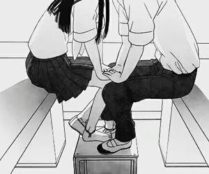 manga, love, and couple image