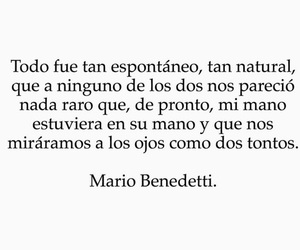 frases, amor, and mario benedetti image