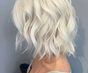 hair, hairstyle, and white image