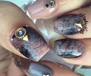 designs, ideas, and nail art image