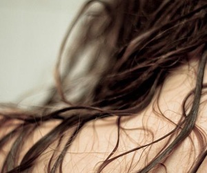 aesthetic, brown hair, and hair image