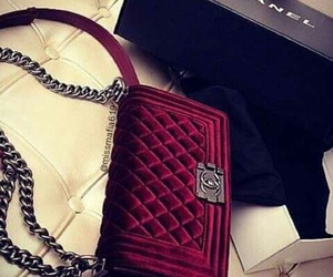 chanel, bag, and red image