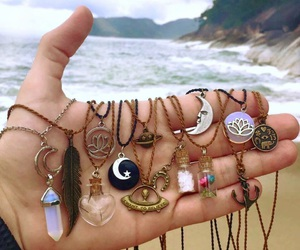 beach, hippie, and lovely image