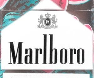 marlboro, cigarette, and die image