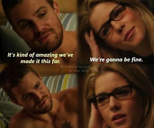 arrow, love, and olicity image