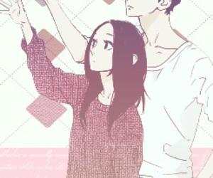 hirunaka no ryuusei, shishio satsuki, and manga image