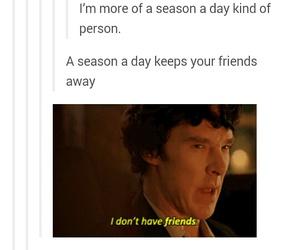 funny, season, and sherlock image