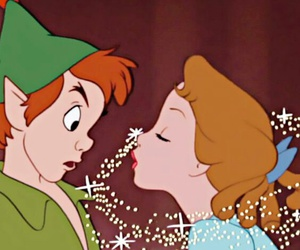 neverland, pixie dust, and peter pan image
