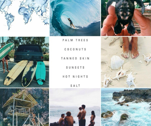 blue, ocean, and travel image