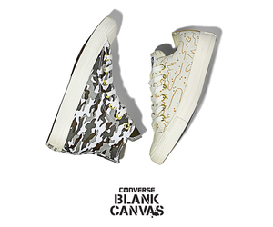 chuck taylors, custom, and converse image