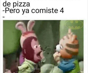 funny, pizza, and frases image