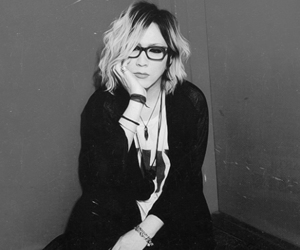 ruki, the gazette, and black & with \\ image