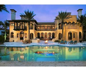 pool, beautiful, and home image