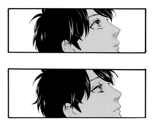 manga, hirunaka no ryuusei, and sensei image