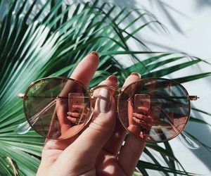 sunglasses, summer, and nails image