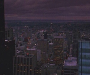 aesthetic, dark, and purple image