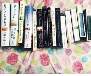 book, books, and nicholas sparks image