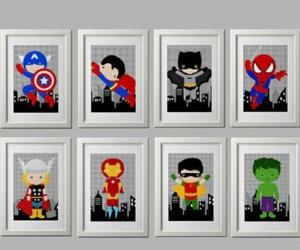 batman, Hulk, and ironman image