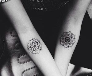 tattoo, mandala, and tatoo image