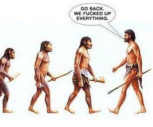 funny and evolution image