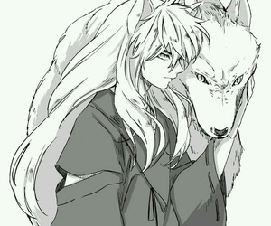 inuyasha, manga, and handsome image