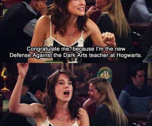harry potter, how i met your mother, and himym image