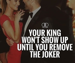 king, ladies, and quote image