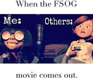 fifty shades of grey, fsog, and movie image