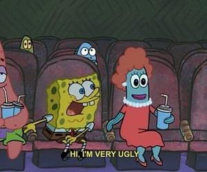 ugly, spongebob, and funny image