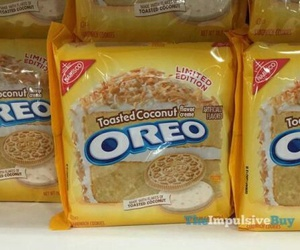 flavors, oreo, and toasted coconut image