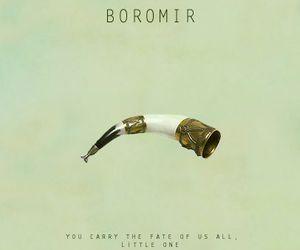 LOTR and boromir image