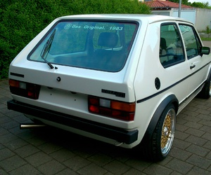 gti, mk1, and golf1 image