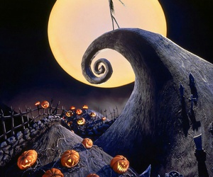 tim burton, Halloween, and the nightmare before christmas image