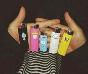 adventure time, lighter, and finn image