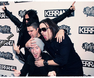 bullet for my valentine, moose, and matt tuck image