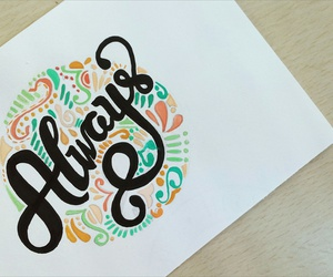 always, doodle, and lettering image