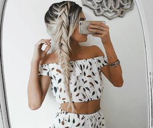braids, fashion, and lovely image