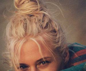 girl, blonde, and blonde hair image