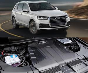audi q7, luxury automobile, and stylish design image
