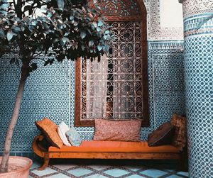 blue, orange, and morocco image