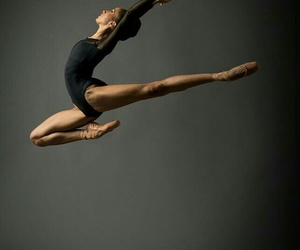 ballet, dancer, and ballerina image