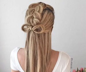 beauty, hairextensions, and fashion image