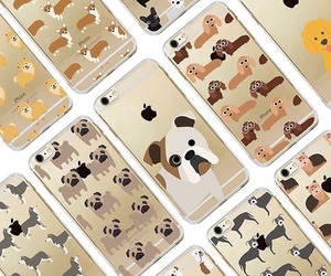 apple, bulldog, and cases image